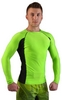 Рашгард для MMA Berserk Long Sleeve Hyper Neon green - фото 2