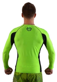 Фото 3 к товару Рашгард для MMA Berserk Long Sleeve Hyper Neon green
