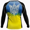 Рашгард для MMA Berserk Ukraine Fighter black - фото 4