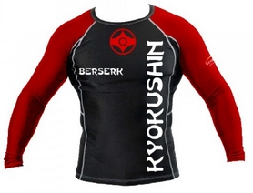 Рашгард Berserk for Kyokushin black - M