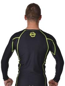 Фото 2 к товару Рашгард для MMA Berserk Legacy Long Sleeve black/yellow