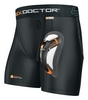 Компресc-шорты Shock Doctor Boxer Short с ракушкой из карбона - фото 1