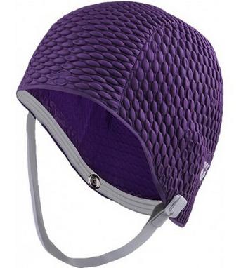 Шапочка для плавания Arena Gauffre фиолетовая