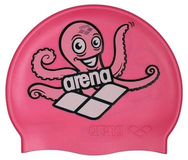 Шапочка для плавания Arena Multi Junior Cap 5 Arena World розовая