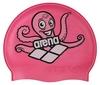 Шапочка для плавания Arena Multi Junior Cap 5 Arena World розовая - фото 1