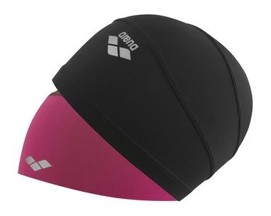 Шапочка для плавания Arena Smart Cap малиновая