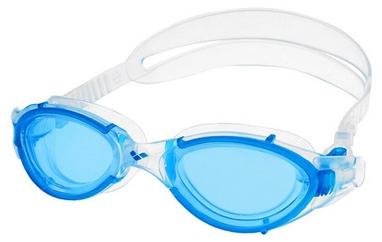 Очки для плавания Arena Nimesis X-Fit Light Blue-Transparent