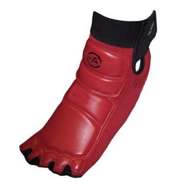 Защита для ног (стопа) ZLT BO-2601-R красная