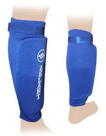 Распродажа! Защита для ног (голень) ZLT ZB-4213 синяя, размер - XL