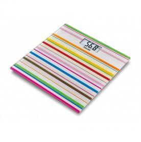 Фото 1 к товару Весы напольные GS 27 Happy Stripes Beurer