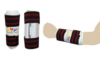 Защита для тхэквондо (предплечья) ZLT BO-4082-W белая
