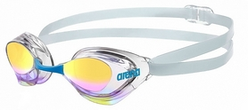 Очки для плавания Arena Aquaforce Mirror light blue-transparent