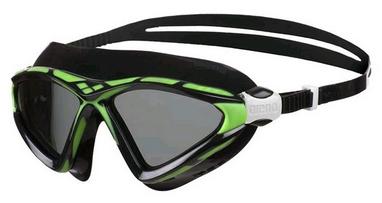 Маска для плавания Arena X-Sight 2 зеленая