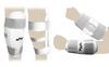 Защита для тхэквондо (предплечье+голень) ZLT BO-4382-W белая - фото 2