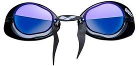 Фото 2 к товару Очки для плавания Arena Swedix Mirror black-blue