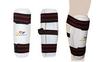 Защита для ног (голень) тхэквондо ZLT BO-4081-W белая - фото 1