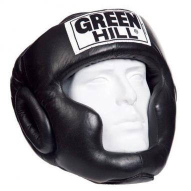 Распродажа*! Шлем боксерский Green Hill Super черный - L