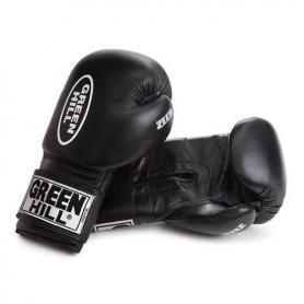 Фото 1 к товару Перчатки боксерские Green Hill Zees (черные)