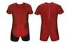 Трико борцовское, тяжелоатлетлетическое мужское Combat Budo CO-0716-R красное - фото 1