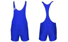 Трико борцовское, тяжелоатлетлетическое мужское Combat Budo CO-3045-B синее