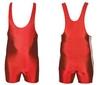 Трико борцовское, тяжелоатлетлетическое мужское Combat Budo CO-3534-R красное - фото 1