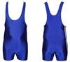 Трико борцовское, тяжелоатлетлетическое мужское Combat Budo CO-3534-BL синее - фото 1