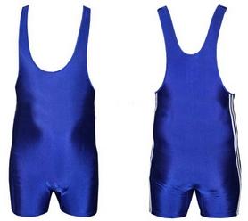 Трико борцовское, тяжелоатлетлетическое мужское Combat Budo CO-3534-BL синее