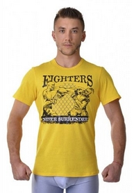Футболка Berserk Ukraine Fighter yellow