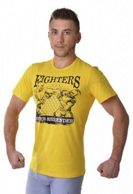 Фото 3 к товару Футболка Berserk Ukraine Fighter yellow