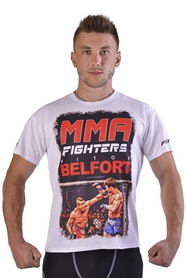 Футболка Berserk Fighters Belfort white