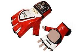 Перчатки для смешанных единоборств MMA ZLT ZB-6104-R красные