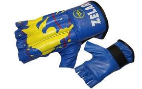 Распродажа*! Перчатки снарядные (шингарты) ZLT ZB-4224-B синие, размер - XL