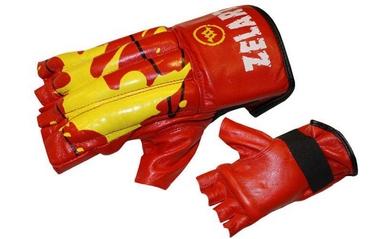 Перчатки снарядные (шингарты) ZLT ZB-4224-R красные