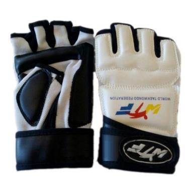 Накладки (перчатки) для тхэквондо ZLT BO-4464-W белые