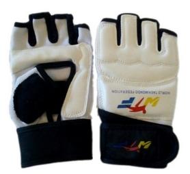 Накладки (перчатки) для тхэквондо BO-4617-W белые - S