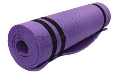 Коврик туристический Sport 10 мм фиолетовый