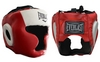 Шлем боксерский с полной защитой Everlast VL-8207-R красный - фото 1