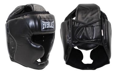 Шлем боксерский с полной защитой Everlast BO-4299-BK черный