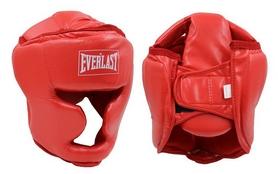 Шлем боксерский с полной защитой Everlast BO-4299-R красный