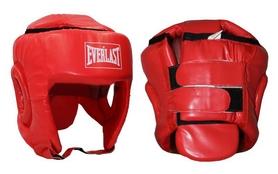 Фото 1 к товару Шлем боксерский Everlast BO-4492-R красный