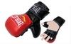 Перчатки для смешанных единоборств MMA Everlast BO-4612-RBK красно-черные - фото 1