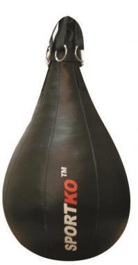 Груша боксерская набивная Sportko GK-4 (Кожа) 70х52 см