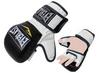 Перчатки для смешанных единоборств MMA Everlast BO-4612-BKW черно-белые - фото 1