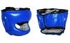 Шлем боксерский с бампером Velo VL-8128-B синий - фото 1