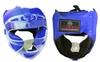 Шлем для единоборств ZLT ZA-01027-B синий - фото 1