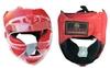 Шлем для единоборств ZLT ZA-01027-R красный - фото 1