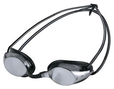 Очки для плавания Arena Pure Mirror серые