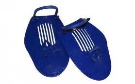 Фото 1 к товару Лопатки для плавания (ласты для рук) Dorfin (ZLT) синие