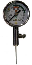 Манометр для мячей механический JP-193