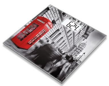 Весы стеклянные Beurer GS 203 London